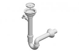 Jednodjelni sifon za sudoper
