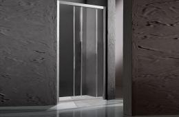 Tuš stjenka s kliznim vratima